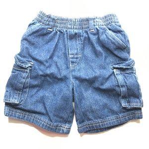 Garanimals Blue Denim Cargo Shorts A010782